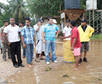 Flood in Colombo District